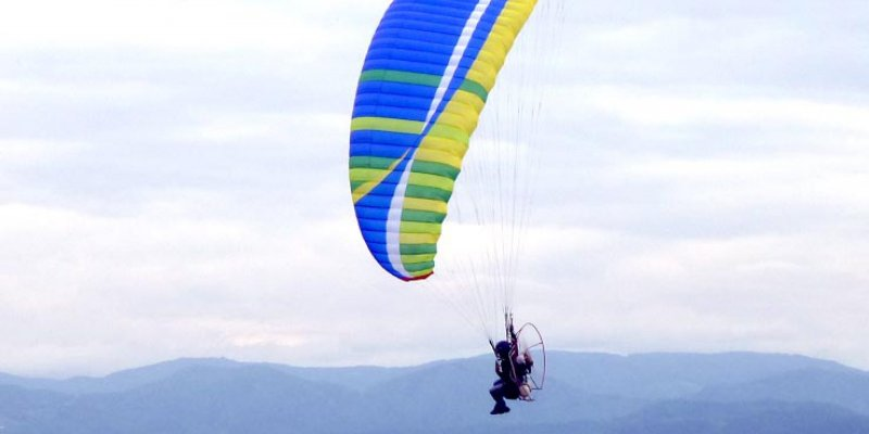 The new BGD paramotor blog goes on line