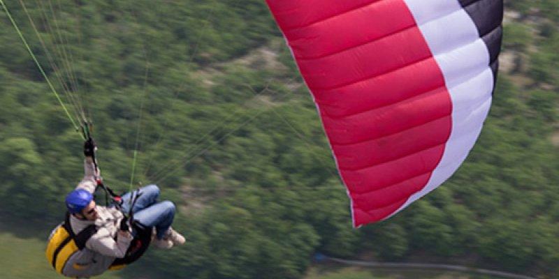 David Chaumet voa 285km de sua rampa em Portugal.
