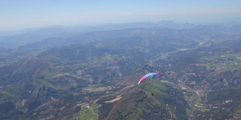 Mathis Ruhl voou através dos Alpes (270km) no seu Cure M.
