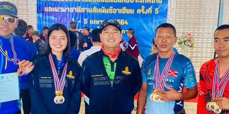Adams triumph in Thailand accuracy competition